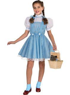 Wizard Of Oz Dorothy Costume Dress Girls Kids Child Youth Outfit Wizard Of Oz Dorothy Costume, Dorothy Halloween Costume, Halloween Fancy Dress, Halloween Costumes For Girls, Girl Costumes, Adult Costumes, Wizard Oz, Wizard Costume, Costume Craze