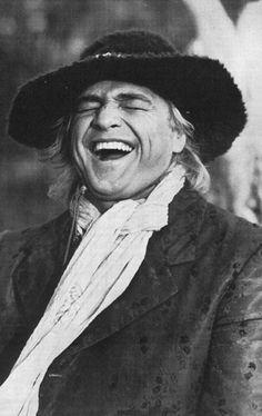 Marlon Brando-Laughter makes everyone look better!