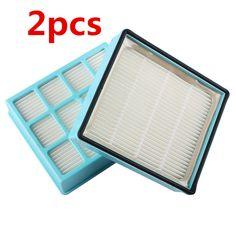 2pcs Vacuum Cleaner Filter Accessories Parts Hepa Filter For Philips FC8140 FC8142 FC8130 FC8144 FC8146 FC8131 FC8147 FC8132  #Affiliate