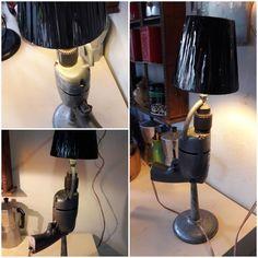 Upcyle drill light - geri dönüşüm matkap abajur.