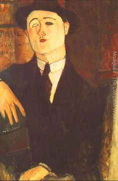 Portrait Of The Art Dealer Paul Guillaume | Amedeo Modigliani