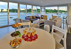 A cruise down the Chobe River on one of the Chobe Princesses is a luxurious experience, with fine dining, top-notch accommodation and breathtaking view