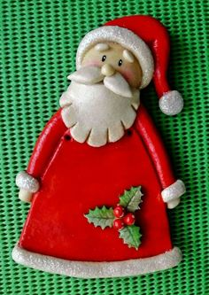 New Knitting Christmas Decorations Xmas Stockings 27 Ideas Knitted Christmas Decorations, Knit Christmas Ornaments, Polymer Clay Christmas, Dough Ornaments, Christmas Knitting, Handmade Christmas, Christmas Crafts, Christmas Tree, Paper Clay Art