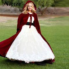>> Click to Buy << Burgundy Velvet Evening Cape Hooded Long Women Marriage Blero Custom Made Bridal Cloak Christmas Party bolero de casamento #Affiliate