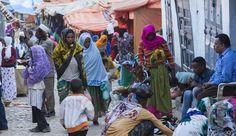 Harar, Babile, Hirna. Eastern Ethiopia Photos by Ilia Torlin - HARAR, ETHIOPIA - DECEMBER 24, 2013: Unidentified people of anci