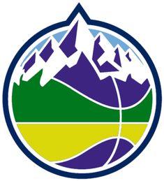 d9a83ee08 Utah Jazz Alternate Logo on Chris Creamer s Sports Logos Page -  SportsLogos. A virtual museum of sports logos