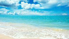 mavi deniz manzarası