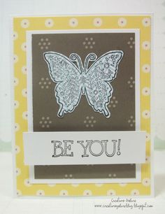 Be You!     American Crafts (paper), Unity Stamp Company (stamps)