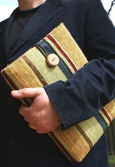 Laptop sleeve for men...