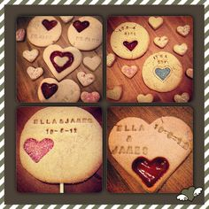 Favours - baby showers, weddings, valentine.