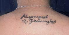Mi segundo Tatuajee♥ Por mis abuelos