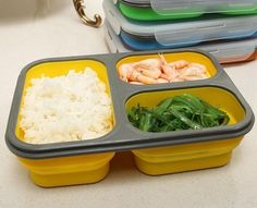 [Visit to Buy] Silicone Collapsible Portable Food Storage Container Large Capacity Bowl Lunch Bento Box Folding Lunchbox Eco-Friendly Microwave Recipes, Gourmet Recipes, Healthy Recipes, Microwave Oven, Keto Recipes, Lunch Box Containers, Food Storage Containers, Fruit Storage, Portable Food