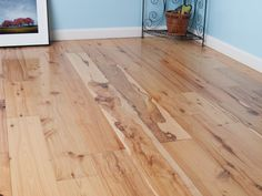 Australian Cypress is a beautiful rustic hard and stable floor with numerous knots characterized by its cream colored sapwood with honey gold to brown heartwood with darker knots throughout. There is a high degree of color variation.