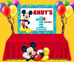 This item is unavailable Birthday Favors, Birthday Party Themes, Party Favors, Mickey 1st Birthdays, Paper Party Bags, Mickey Mouse Clubhouse Birthday Party, Party Pops, Birthday Backdrop, Chip Bags