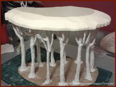 Removable forest canopy tutorial.