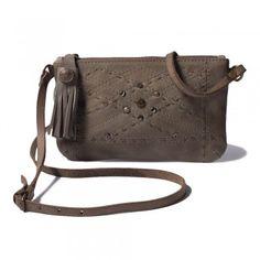 Noosa Schultertasche OSHUN Small Bag grau