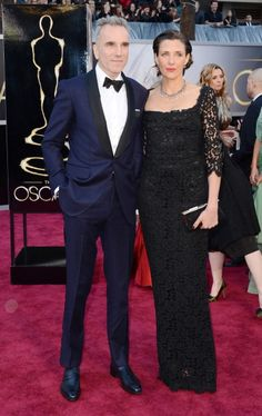 Oscar 2013 Red Carpet Gallery: Daniel Day-Lewis and his wife Rebecca Miller