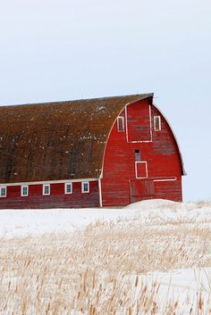 .beautiful you got to love red barns