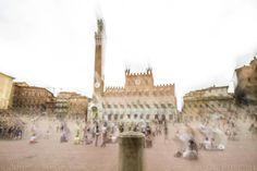 Siena - Piazza del Campo ghosts