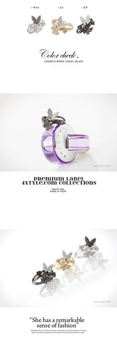 [Butterfly closet ring _RI108-AF04, 8000