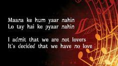Maana ke hum yaar nahin | english translation with lyrics | Meri Pyaari ...