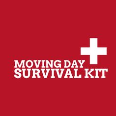 """The little things make a big difference on moving day, which is why I highly recommend my clients prepare a """"Moving Day Survival Kit"""" to . Survival Shelter, Survival Prepping, Survival Skills, Survival Gear, Real Estate Slogans, Real Estate News, Moving Day, Moving Tips, Moving Hacks"""