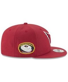 New Era Arizona Cardinals Anniversary Patch 9FIFTY Snapback Cap - Red Adjustable