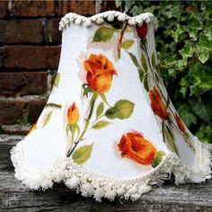 Harmony barkcloth lampshade at FollyandGlee.co.uk £35