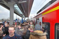 Freie Fahrt zwischen Aachen und Heinsberg lockte tausende Fahrgäste in die Bahn.