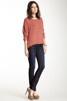 Collin Double Button Skinny Jean  JeanWomen #Pants