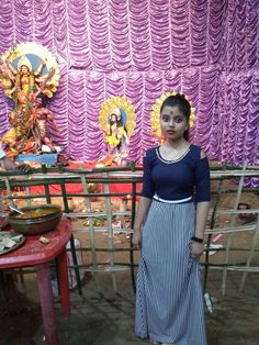 Happy Durga Puja, Skirts, Fashion, Moda, Fashion Styles, Skirt, Fashion Illustrations, Gowns