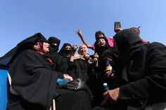 They could not contain their joy after being liberated ISIS and its grip of death.