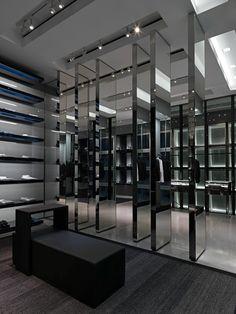 Dior Homme Taipei 101 flagship store Pure Creative 07 Mirror mirror