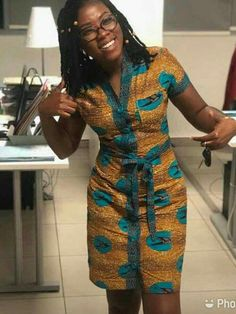 (notitle) at Diyanu Short African Dresses, Latest African Fashion Dresses, African Print Dresses, African Print Fashion, Africa Fashion, Ankara Dress Styles, Latest Fashion, Fashion Trends, Moda Afro