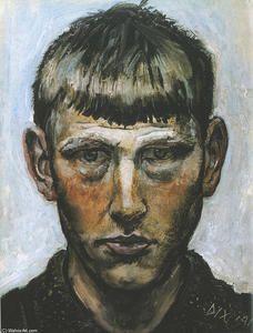 Otto Dix - Autoportrait.