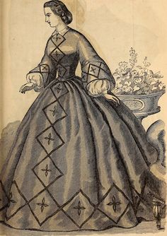 Godey's Lady's Book, 1862 | In the Swan's Shadow