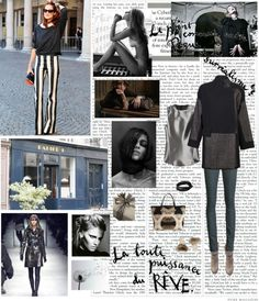 """Paris Forever"" by ropearoundyourneck ❤ liked on Polyvore"