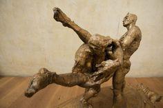 Escultura de Javier Marín en bronce.  Javier Marín's bronze sculpture.  Escultura contemporánea. Figura humana. Bronce a la cera perdida.Arte.  Contemporary sculpture. Human form.  Lost wax bronze. Art. javiermarin.com.mx » BRONCE