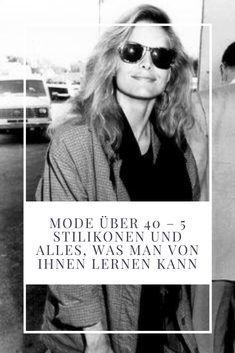 5 moderne Stilikonen und ihre Geheimtipps, um auch über 40 und über 50 immer chic und elegant gekleidet zu sein. #ü40 #ü50 #fashionover40 #over50fashion #over40style #styleicons #womensfashion Emmanuelle Alt, Vogue Paris, Fashion Over 40, Fashion Looks, Mode Ab 50, Elegant, Mirrored Sunglasses, Abs, Lifestyle