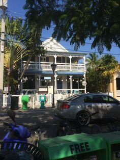 #keywest Key West, Mansions, House Styles, Travel, Home Decor, Key West Florida, Viajes, Decoration Home, Room Decor