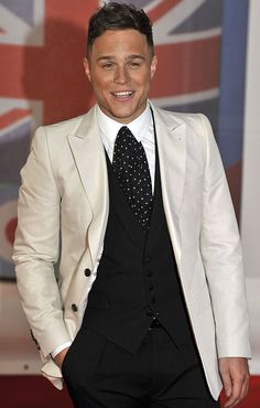 Olly Murs at The Brits 2012