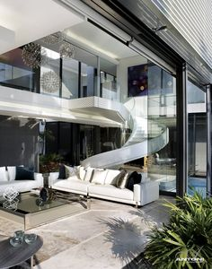 Stairs | 6th 1448 Houghton ZM, South Africa by SAOTA and Antoni Associates |