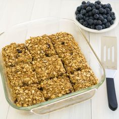 Baked Muesli Oatmeal Bars - I just made these, we'll see how they turn out