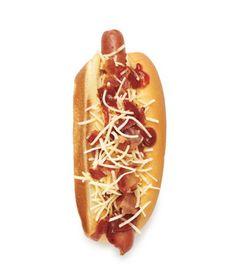 Bacon Barbecue Hot Dog Recipe