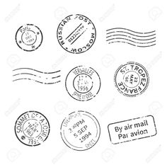 Find Vector Set Vintage Style Post Stamps stock images in HD and millions of other royalty-free stock photos, illustrations and vectors in the Shutterstock collection. Thousands of new, high-quality pictures added every day. Vintage Logos, Vintage Poster, Vintage Stamps, Graphics Vintage, Fabric Stamping, Stamping Nail Art, Metal Stamping, Rare Stamps, Digi Stamps