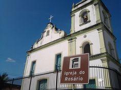 #Igreja - A Igreja do Rosário é um dos patrimonios da Cidade do Natal. Uma das igreja Católica mais antigas da cidade