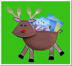 manualidades navidad con platos (1) cosasdivertidasdenavidad.blogspot.com