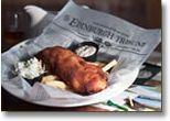 Scottish Pub -  Smoked Salmon, capers -  Steak Pie -  Crab Stuffed Haddock -  Twin Fillets