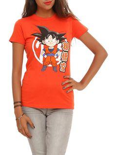 Dragon Ball Z Chibi Goku Girls T-Shirt,