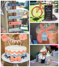 Vintage Gender Neutral Baby Shower with Lots of Really Cute Ideas via Kara's Party Ideas | Cake, decor, cupcakes, favors, printables, and MORE! #genderneutral #vintagebabyshower #girlbabyshower #boybabyshower #partyideas #eventstyling (2)